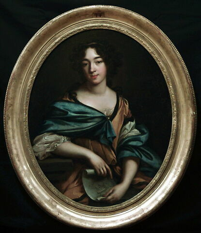 face, recto, avers, avant ; vue d'ensemble ; vue avec cadre © 1999 Musée du Louvre / Peintures