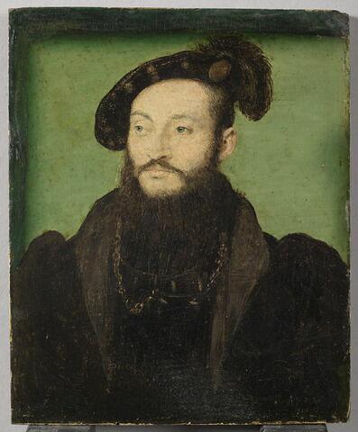 Portrait d'homme, dit autrefois Laurent II de Médicis, duc d'Urbin.