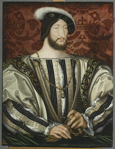 François 1er (1494-1547), roi de France.