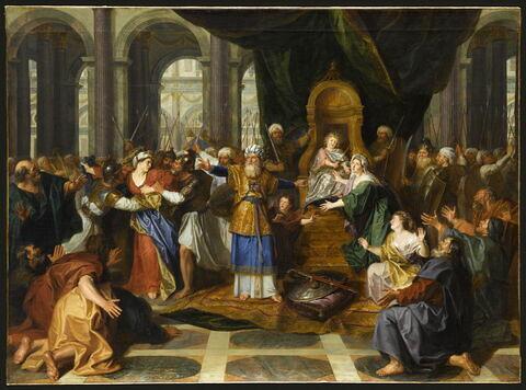 Athalie chassée du temple