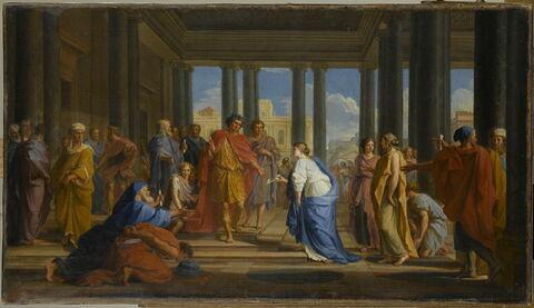 Trajan donnant des audiences publiques