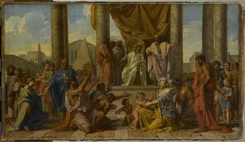 Ptolémée Philadelphe donnant la liberté aux Juifs