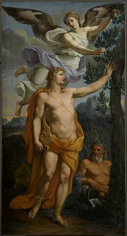 Apollon couronné par la Victoire