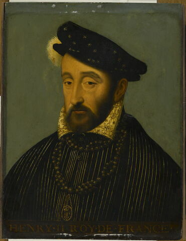 Henri II (1519-1559), roi de France.