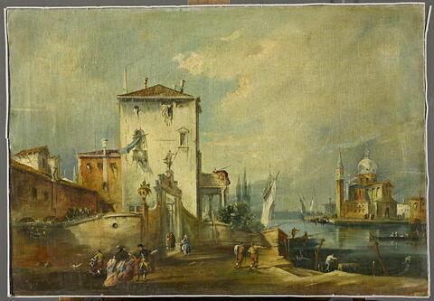 Paysage vénitien
