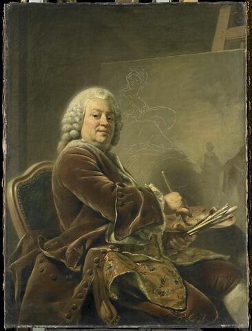 Portrait du peintre Étienne Jeaurat (1699-1789)