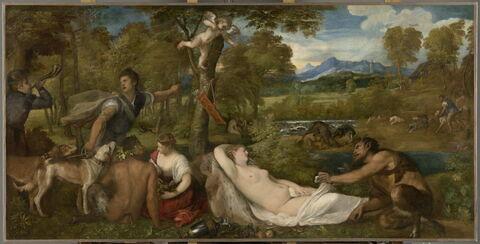 Jupiter et Antiope, dit aussi La Vénus du Pardo