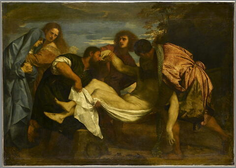 Le Transport du Christ vers le tombeau