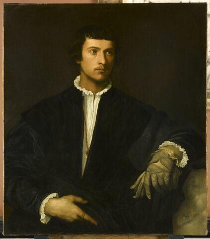 Portrait d'homme, dit L'Homme au gant