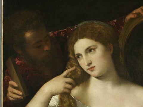 face, recto, avers, avant ; détail © 2011 Musée du Louvre / Martine Beck-Coppola