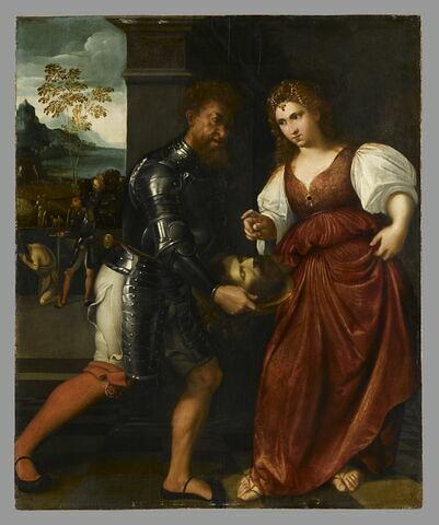 Salomé recevant la tête de saint Jean Baptiste