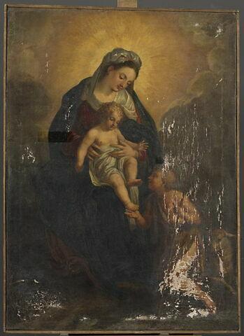 La Vierge à l'enfant avec saint Jean Baptiste