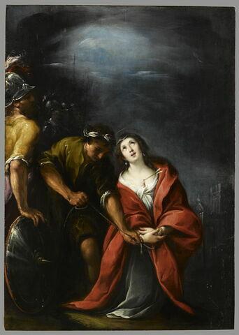 Le martyre d'une sainte