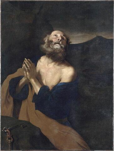 Saint Pierre en prière