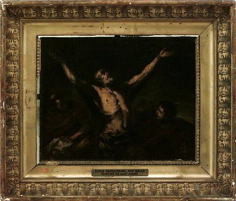 face, recto, avers, avant ; vue d'ensemble ; vue avec cadre © 1998 Musée du Louvre / Peintures