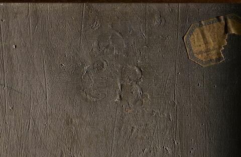 dos, verso, revers, arrière ; détail marque au fer © 2009 RMN-Grand Palais (musée du Louvre) / Stéphane Maréchalle
