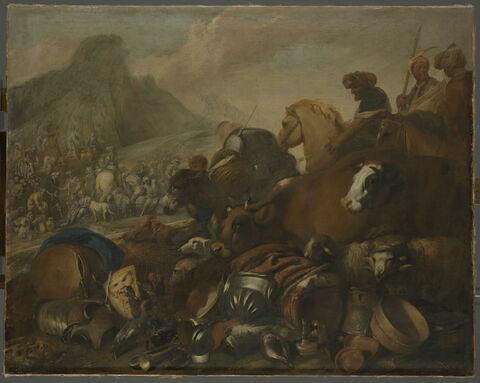 La rencontre d'Abraham et de Melchisédech