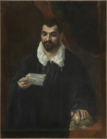 Portrait d'homme, dit autrefois Portrait du docteur Boissy