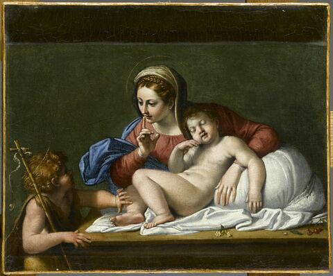 La Vierge et l'Enfant Jésus avec saint Jean, dit aussi Le Silence, ou encore Le Silence du Carrache
