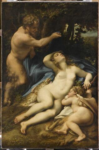 Vénus, Satyre et l'Amour endormi