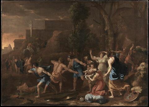 Le jeune Pyrrhus sauvé