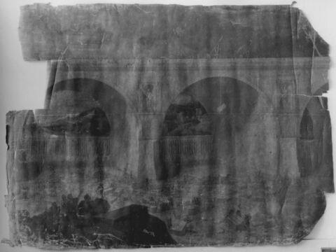 Nitocris, reine d'Assyrie, faisant construire un pont sur l'Euphrate