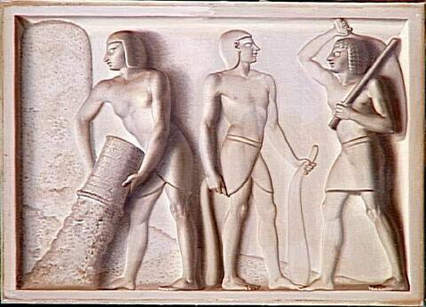 face, recto, avers, avant ; vue d'ensemble ; vue sans cadre © 1996 RMN-Grand Palais (musée du Louvre) / Gérard Blot