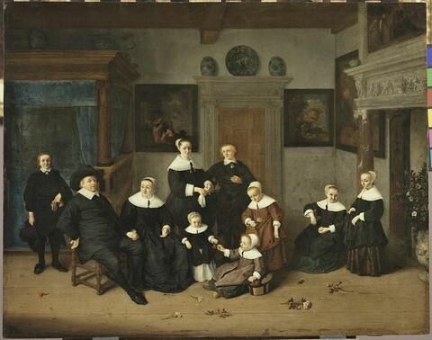 Portrait de famille dans un intérieur, dit autrefois La Famille du Peintre