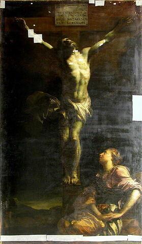 Le Christ en croix et la Madeleine