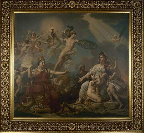 face, recto, avers, avant ; vue d'ensemble ; vue avec cadre © 1998 Musée du Louvre / Etienne Revault