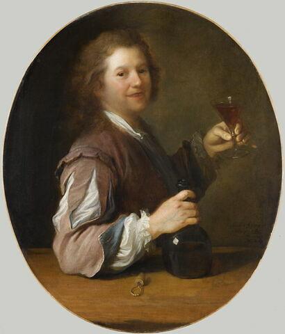 Portrait de l'artiste en buveur.
