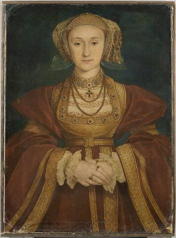 Portrait d'Anne de Clèves (1515-1557), reine d'Angleterre, quatrième épouse de Henri VIII