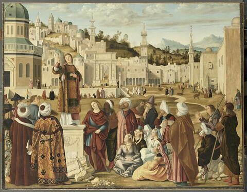 La Prédication de saint Étienne