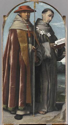 Saint Bonaventure et saint Antoine de Padoue