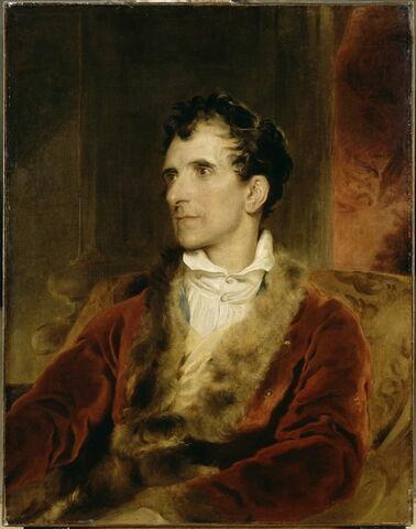 Portrait d'Antonio Canova (1757- 1821), sculpteur
