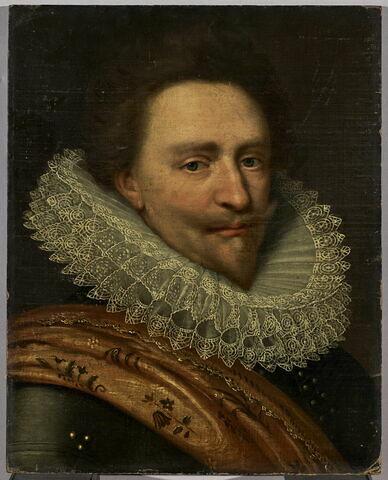 Portrait de Frédéric-Henri de Nassau (1584-1647), prince d'Orange, Stadhouder des Pays-Bas depuis 1625