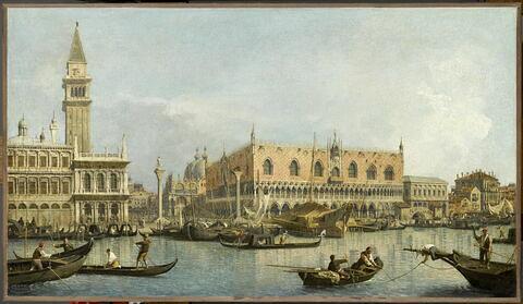 Le Môle, vu du bassin de San Marco