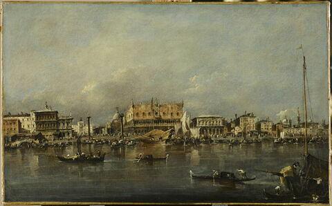 Le Palais des Doges de Venise vu du bassin de Saint-Marc