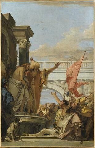 Pilate présentant le Christ à la foule des Juifs (Ecce Homo)