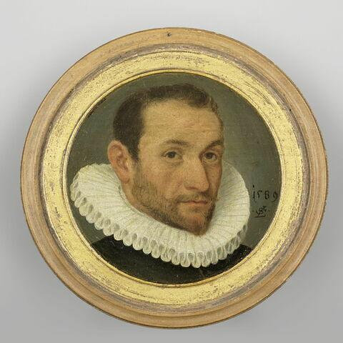 Portrait d'homme à collerette
