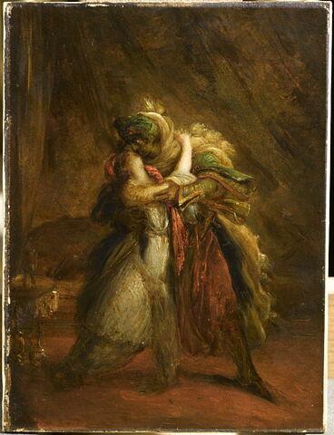 Othello et Desdémone.