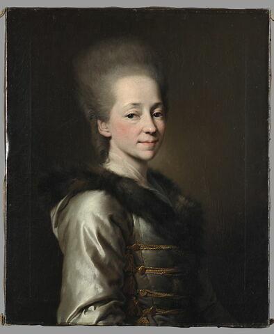 Portrait de Maria Ivanovna Narychkine (1731-1807), dit auparavant Portrait de la princesse Maria Pavlovna Narychkine