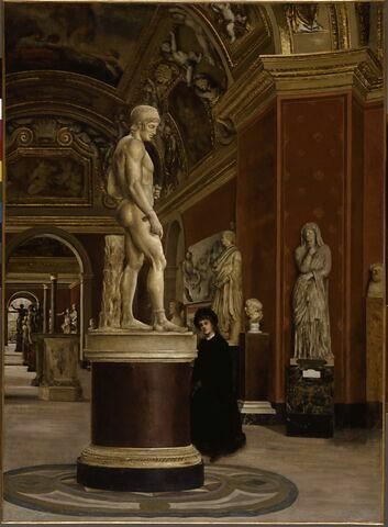 face, recto, avers, avant ; vue d'ensemble ; vue sans cadre © 1994 RMN-Grand Palais (musée du Louvre) / L'Hoir/Popovitch