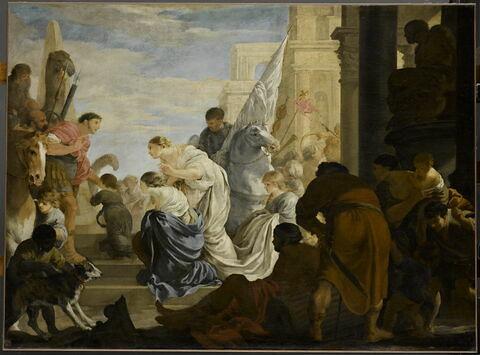 Scène d'histoire romaine