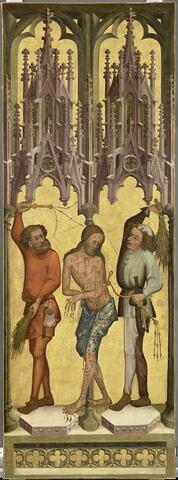La Flagellation du Christ. Saint Pierre et saint Paul