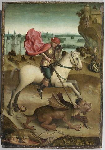 Combat de saint Georges contre le dragon