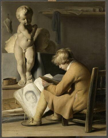 Jeune garçon à l'atelier ou Le Jeune Dessinateur, dit aussi Le Petit Dessinateur