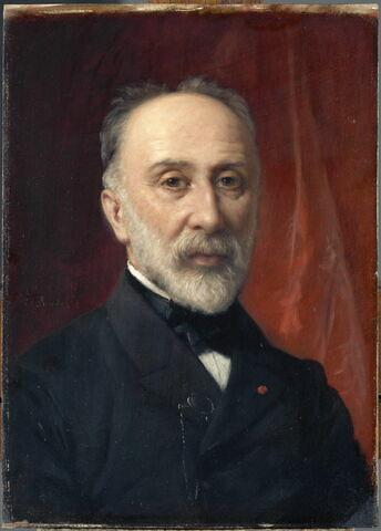 Albert Kaempfen (1826-1907), directeur des Musées nationaux de 1887 à 1904.