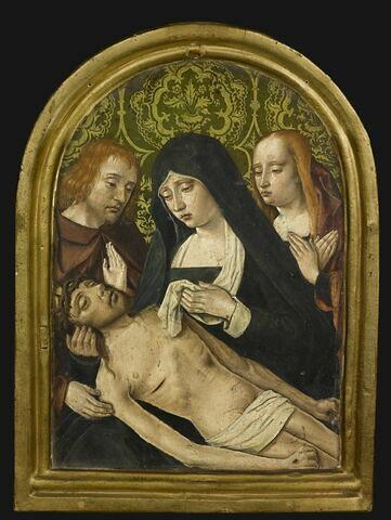 Pietà avec saint Jean et sainte Madeleine