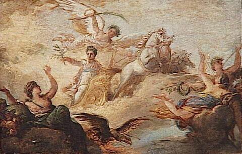 Apothéose de Napoléon 1er.